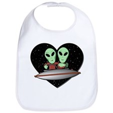 Aliens In Love Bib