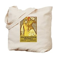 Spanish Flamenco Tote Bag