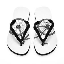 Cute Mountain bike Flip Flops