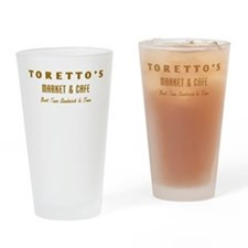 Toretto's Market Drinking Glass