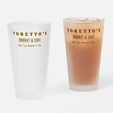 Toretto's Market Drinking Glass