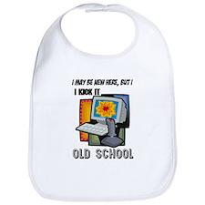 I Kick It Old School Bib