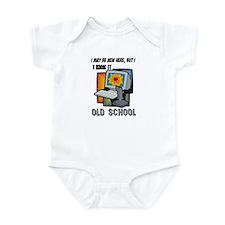 I Kick It Old School Infant Bodysuit