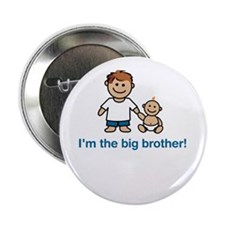 """I'm the big brother!"" Button"