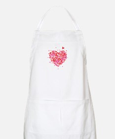 Cute Valentines Day Flowers and Roses Apron