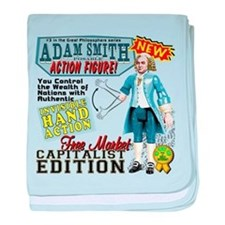 Adam Smith baby blanket