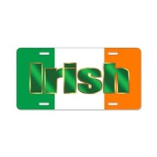 Irish Pride Flag Aluminum License Plate