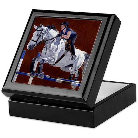 Hunter/Jumper Horse Keepsake Box
