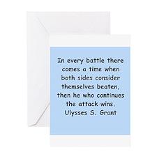 ulysses s. grant Greeting Card