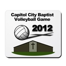 Volleyball 2012 Mousepad