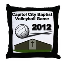 Volleyball 2012 Throw Pillow