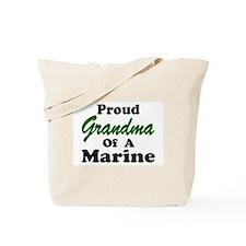 Proud Grandma of a Marine Tote Bag