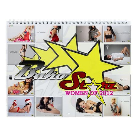 Bako Starz Women of 2013 Calendar