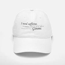 Caffeine Frenzy Baseball Baseball Cap