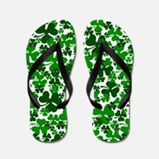 Shamrocks Flip Flops