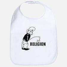 Piss on Religion Bib