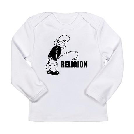 Piss on Religion Long Sleeve Infant T-Shirt