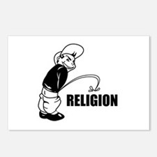 Piss on Religion Postcards (Package of 8)