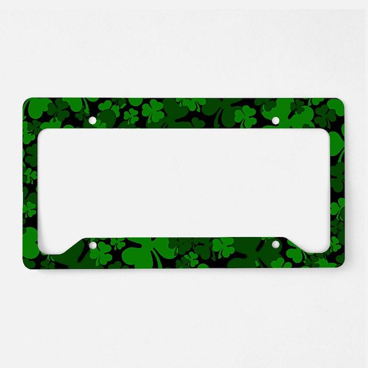 Shamrock License Plate Holder