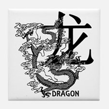 Year Of The Dragon Tile Coaster