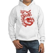 Red Chinese Dragon Jumper Hoody