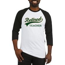 Retired Teacher Gift Baseball Jersey