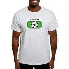 Australia Soccer Field Ash Grey T-Shirt