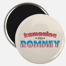 Kamaaina For Romney Magnet