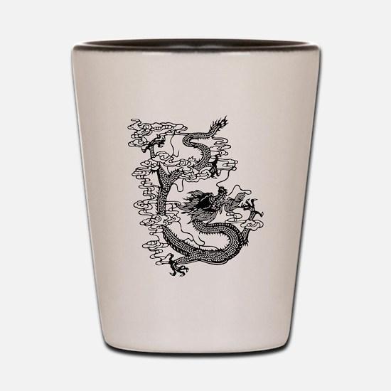 Chinese Dragon Shot Glass