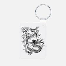 Chinese Dragon Aluminum Photo Keychain