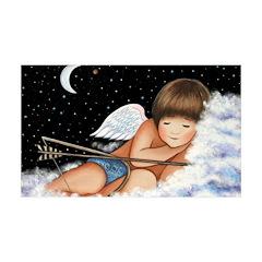 Sleeping Cupid 38.5 x 24.5 Wall Peel