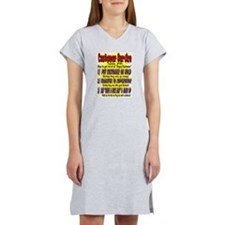Customer service #102 Women's Nightshirt