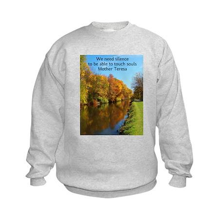 Silence Kids Sweatshirt