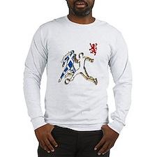 Scotland Footballer Long Sleeve T-Shirt