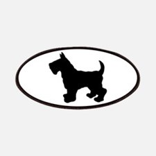 Scottish Terrier Silhouette Patches
