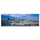 Montreal skyline Framed Prints