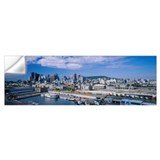 Montreal skyline Wall Decals