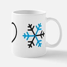 I Love Snow Mug