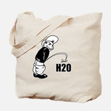 Piss on H2O Tote Bag
