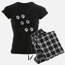 Walking Pawprints pajamas