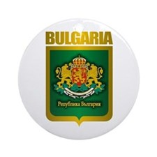"""Bulgarian Gold"" Ornament (Round)"
