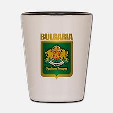 """Bulgarian Gold"" Shot Glass"