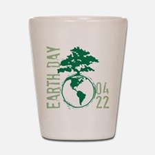 Earth Day 2012 Shot Glass