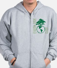 Earth Day 2012 Zip Hoodie