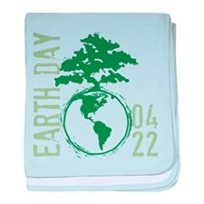 Earth Day 2012 baby blanket