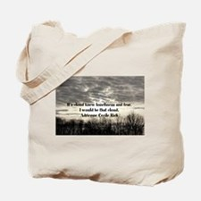 Fear and loneliness Tote Bag
