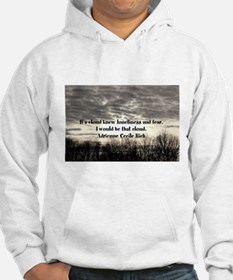 Fear and loneliness Hoodie