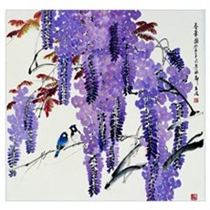 Greeting of spring Poster