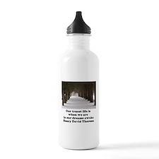 Living in a Dream Water Bottle