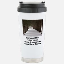 Living in a Dream Stainless Steel Travel Mug